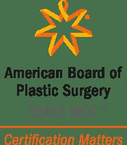 The American Board of Plastic Surgery logo